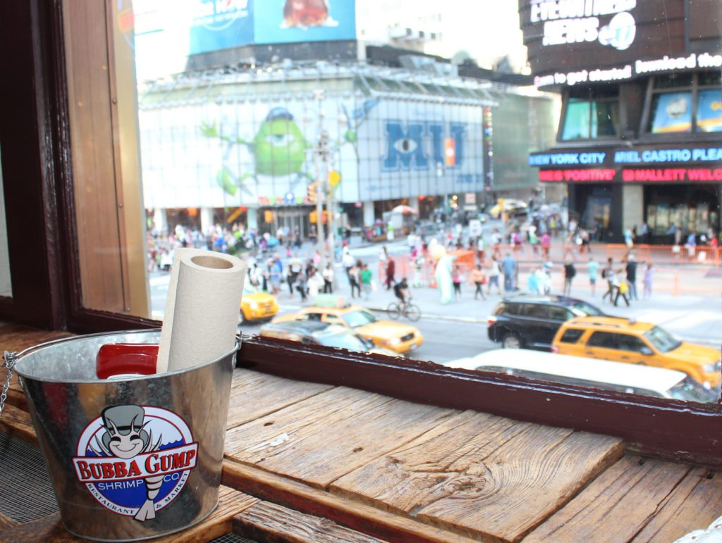 bubba gump restaurant Times Square