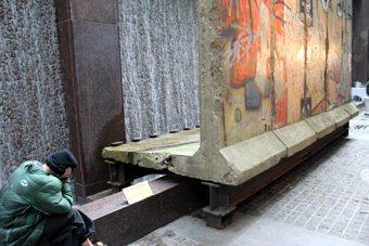 Porción del Muro de Berlín