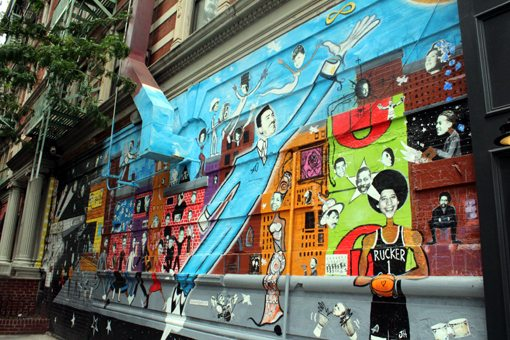 graffity's en Harlem