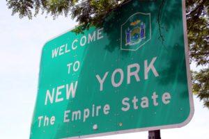cartel estado Nueva York