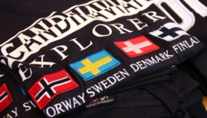 Escandinavia banderas