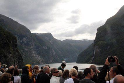 vistas fiordo noruega