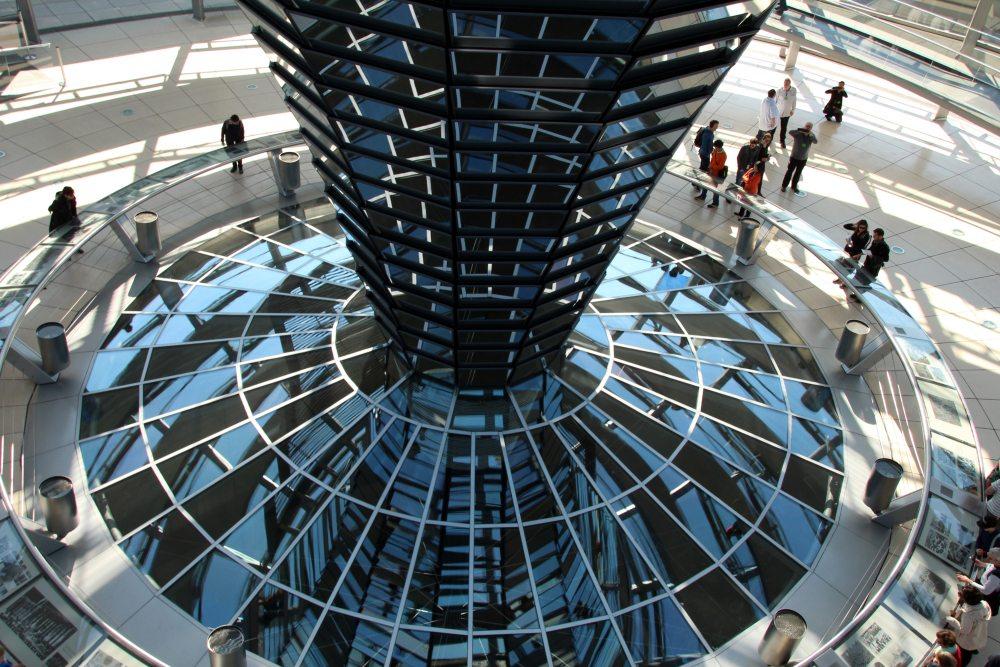 Reichstag cupula cristal