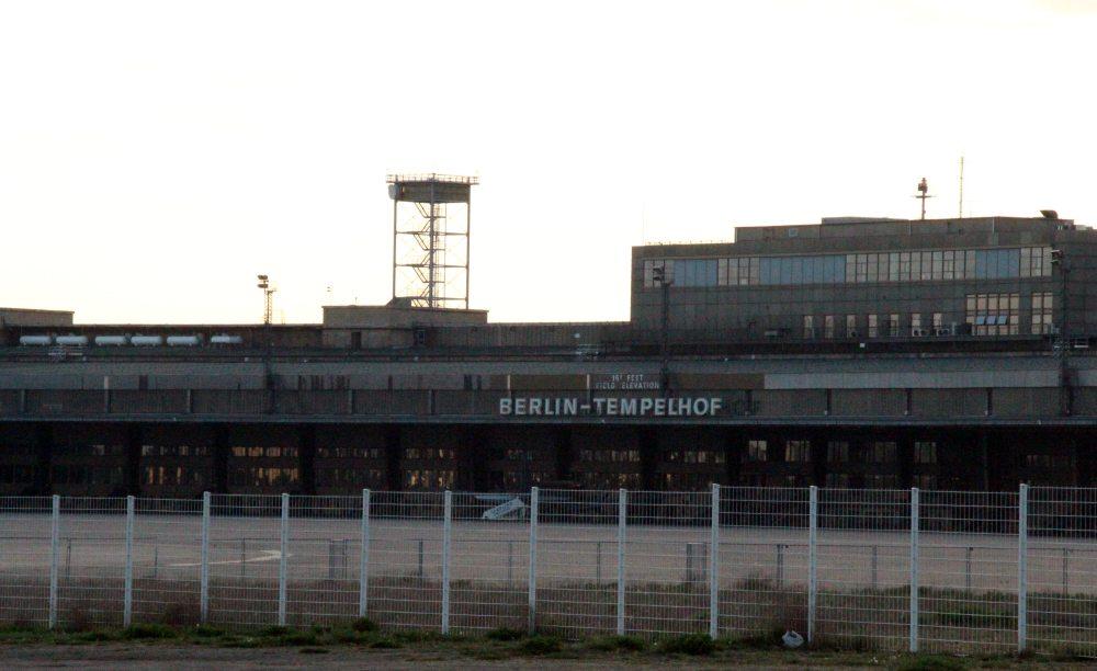 antiguo aeropuerto de Tempelhoff