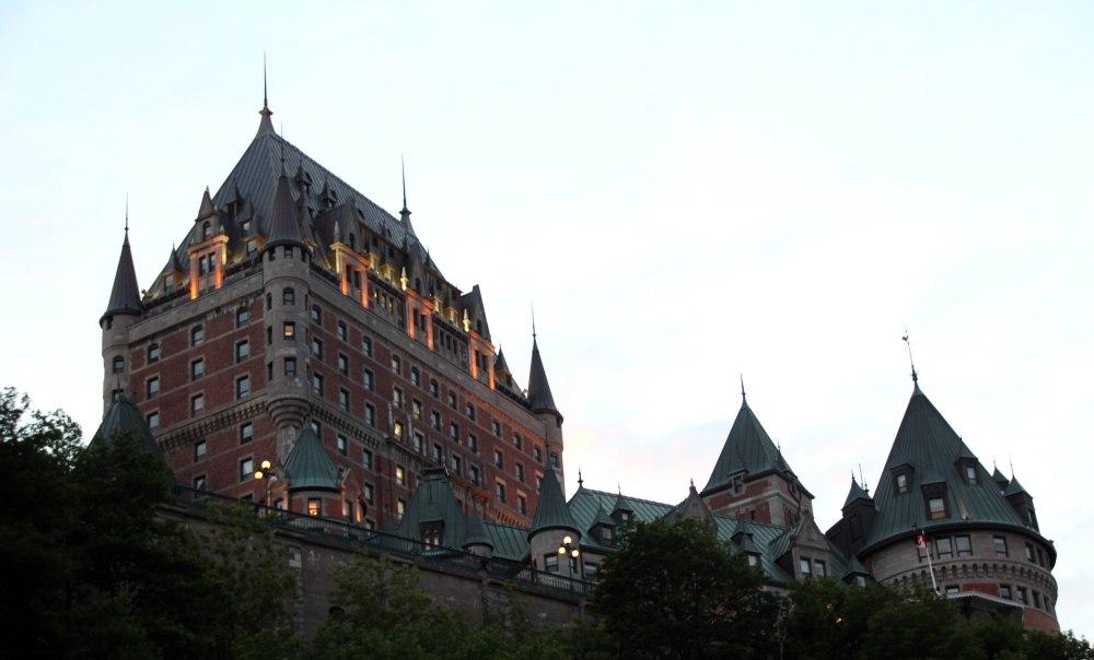 Fairmont chateau frontenac quebec