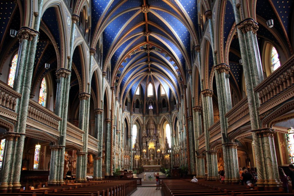 interior catedral ottawa