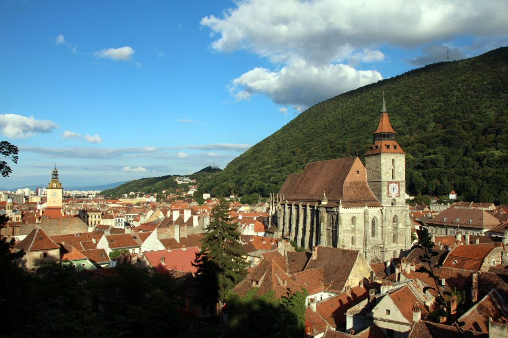 Brasov vista panoramica