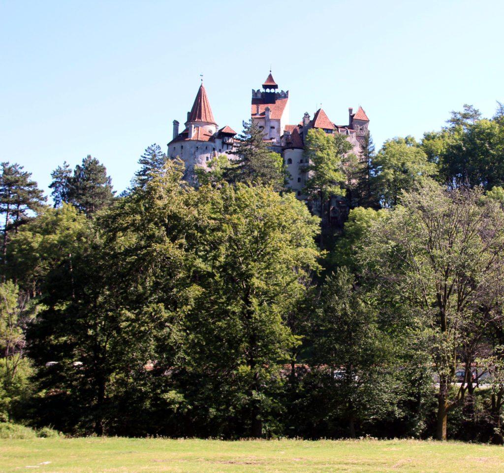 Castillo de Bran panoramica