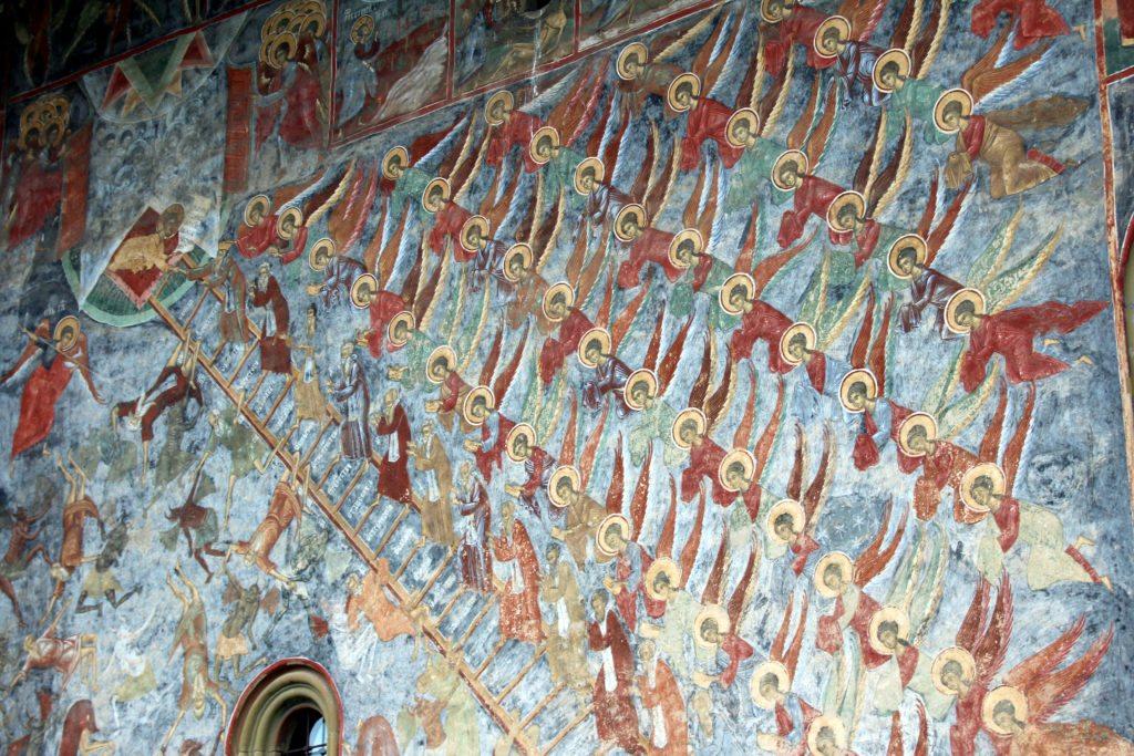Monasterio Sucevita escalera