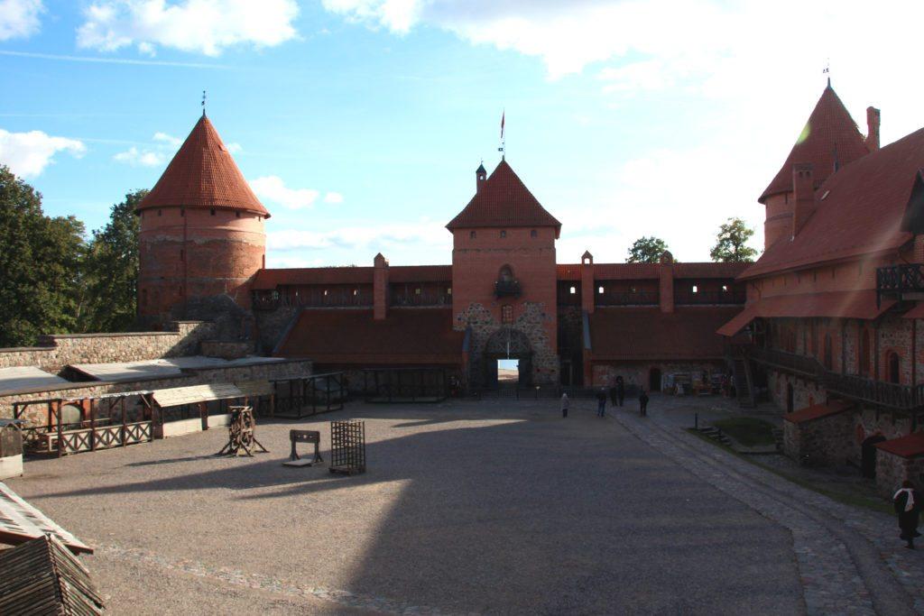 Castillo Trakai interior