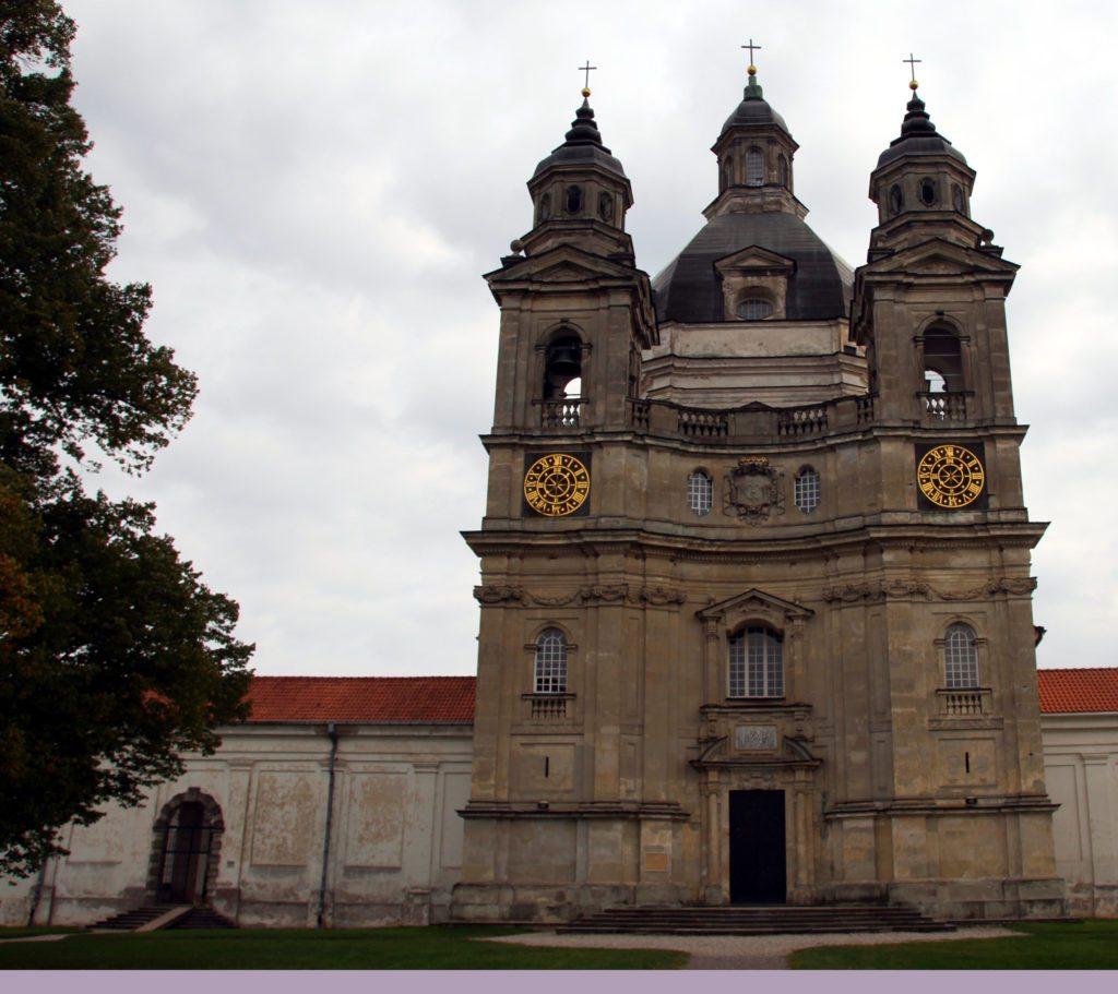 monasterio Pažaislis fachada