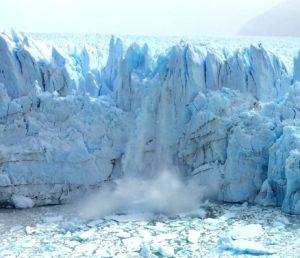 Caida hielo Perito Moreno