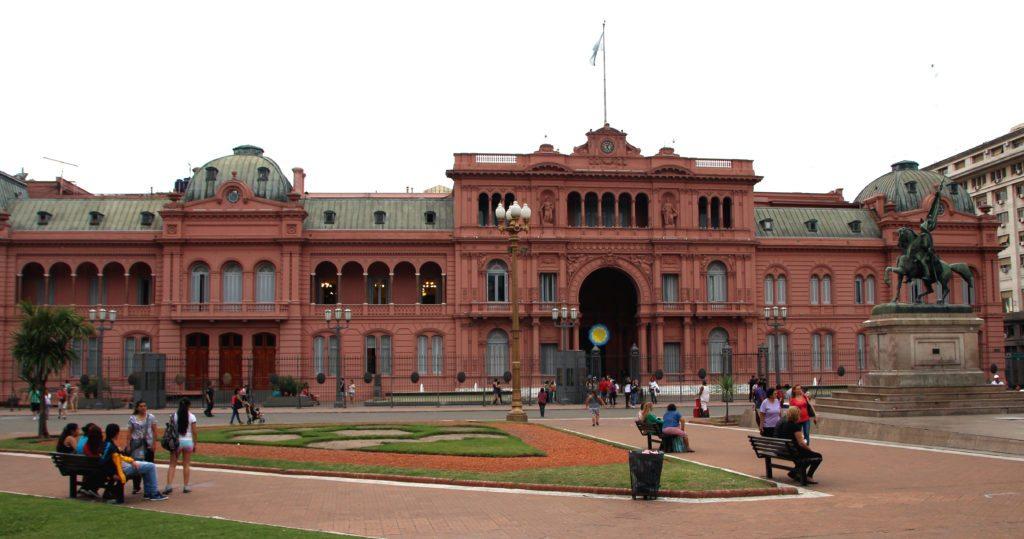 Exterior Casa Rosada