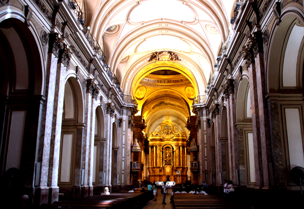 interior catedral Buenos Aires
