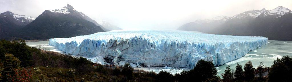 panoramica glaciar perito moreno