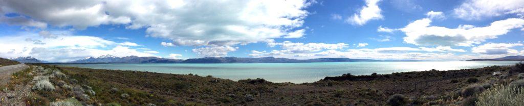 Panoramica Lago El Calafate