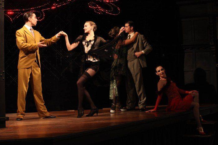 Espectaculo baile El Querandí