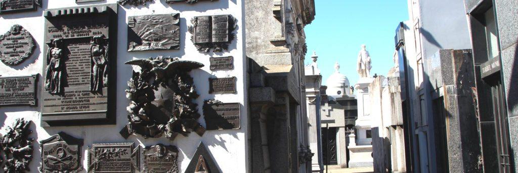 Panoramica Cementerio La Recoleta