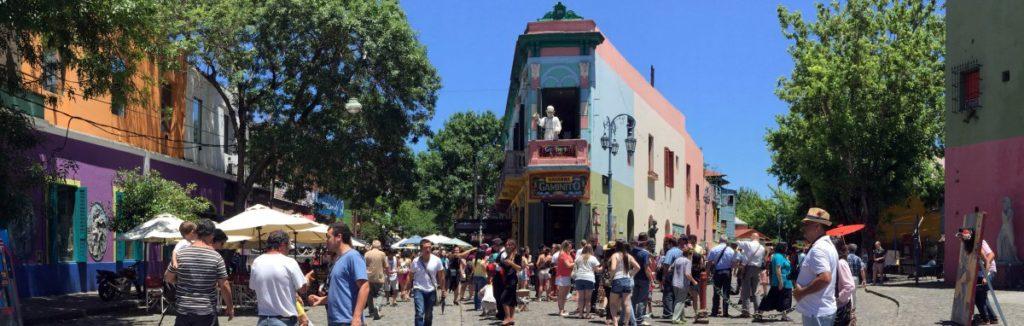 panoramica entrada Barrio Caminito