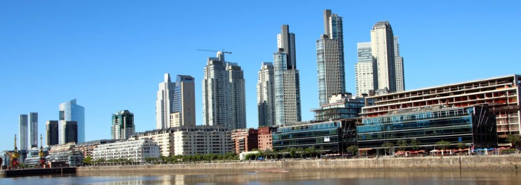 Panoramica Puerto Madero, Buenos Aires