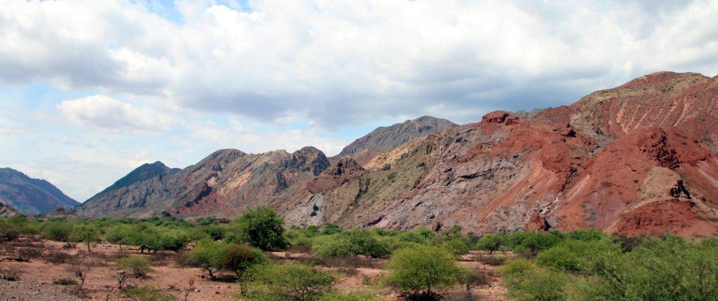 Valles Calchaquies, quebrada de las conchas