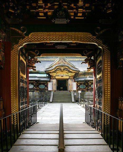Acceso puerta Karamon, templo Taiyuin, Nikko