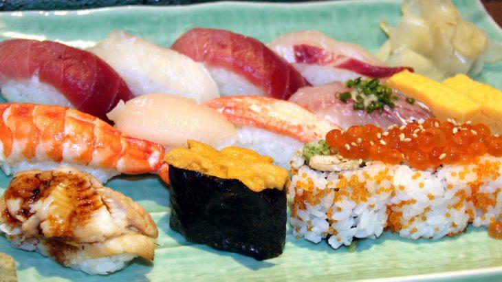 sushi, mercado Tsukiji, Tokio
