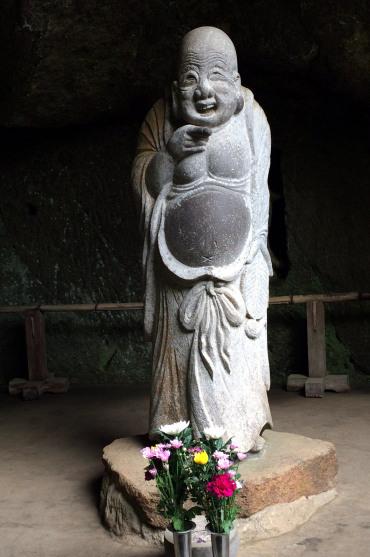 buda Hotei, dios felicidad, Templo Jochiji