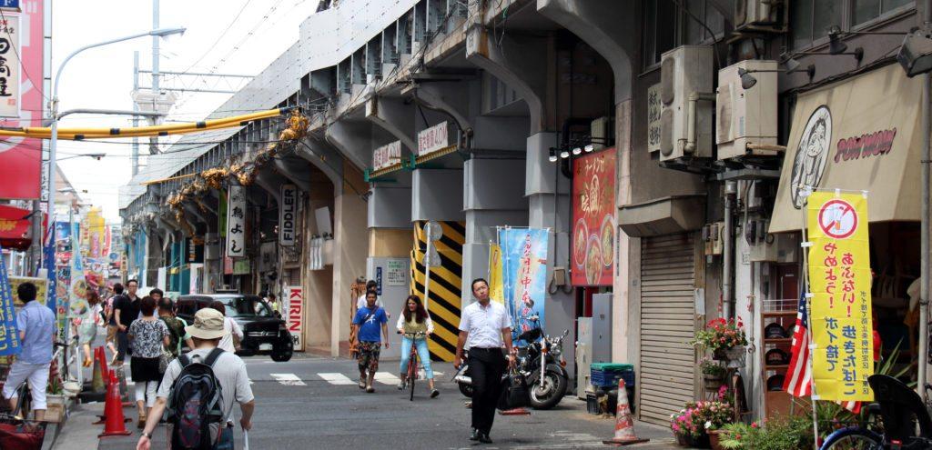 calle de Ueno a Akihabara