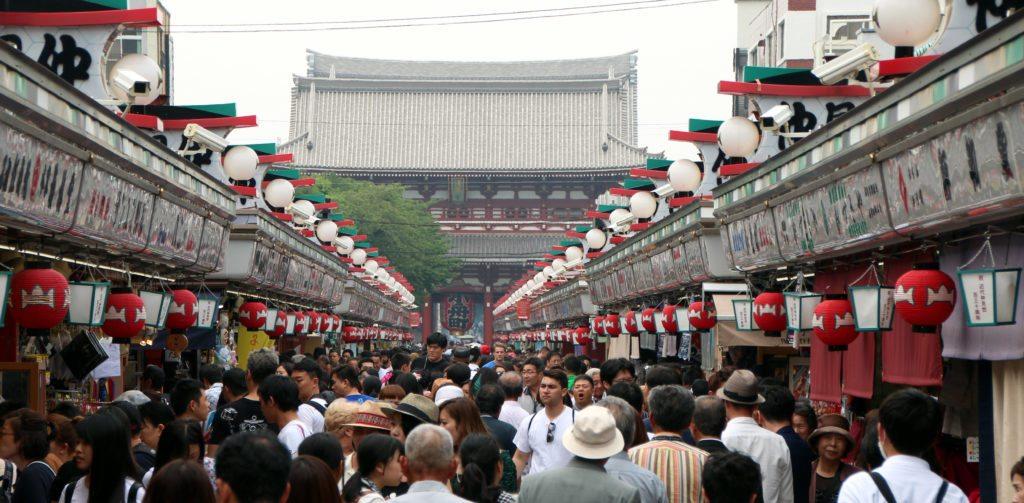 calle Nakamise, Templo Sensoji
