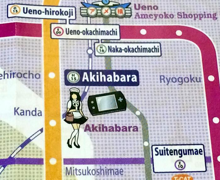 como llegar Akihabara, barrio Tokio