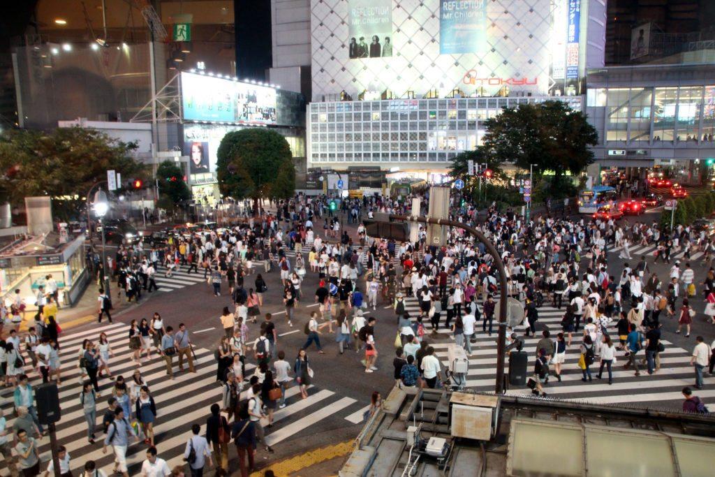 Cruce peatones Shibuya