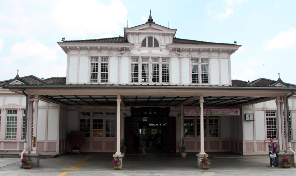 estación tren Nikko