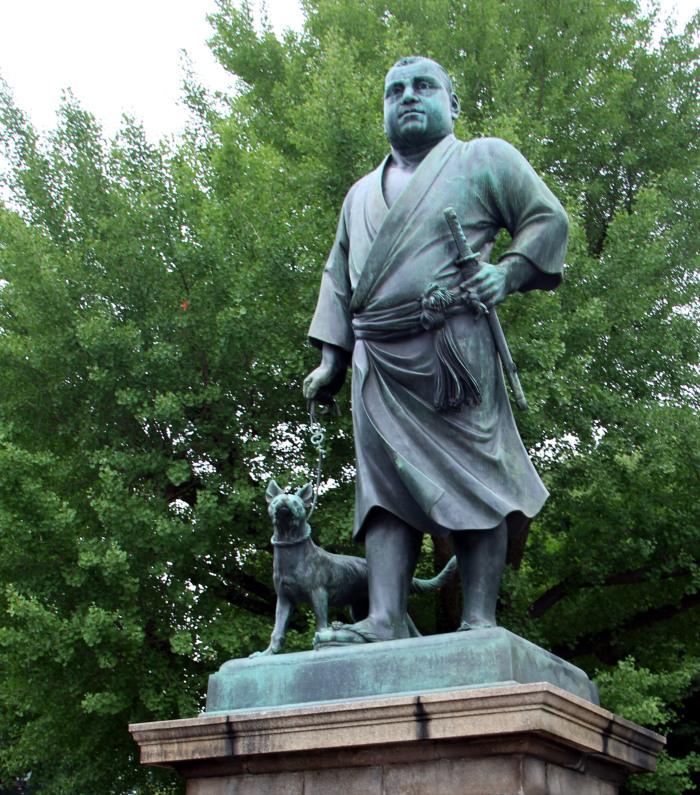 estatua de Saigo Takamori, tokio, ueno
