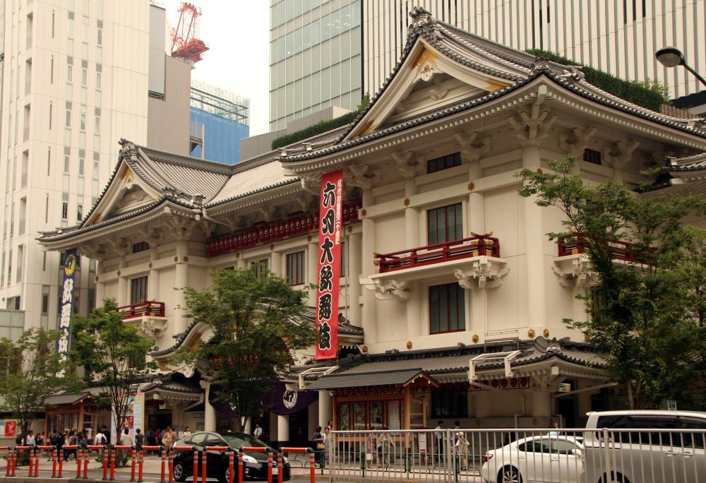 fachada Teatro Kabukiza, Asakusa