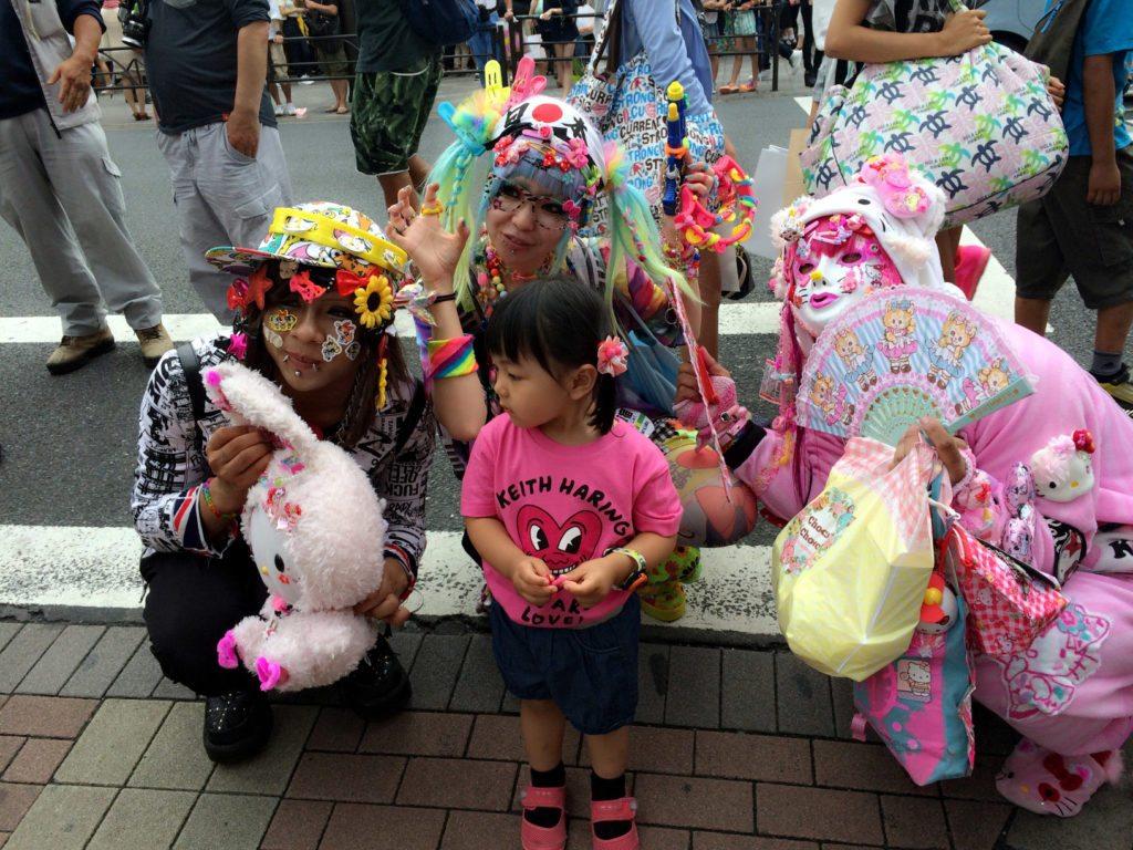 frikis disfraces Harajuku, Tokio