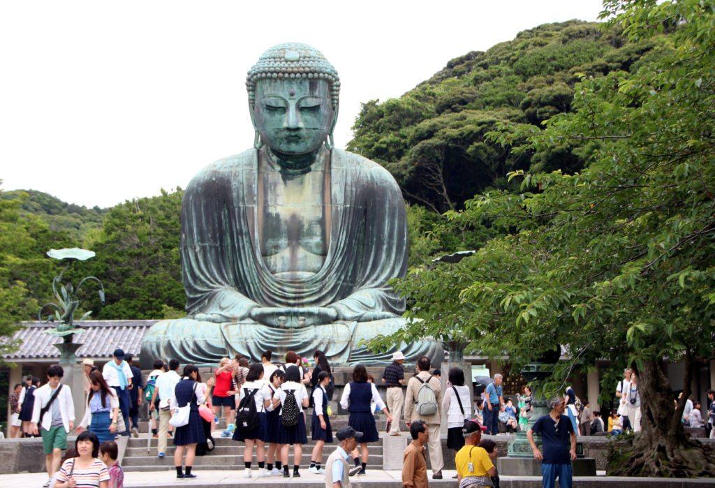 Gran Buda gigante bronce, Daibutsu, Kamakura
