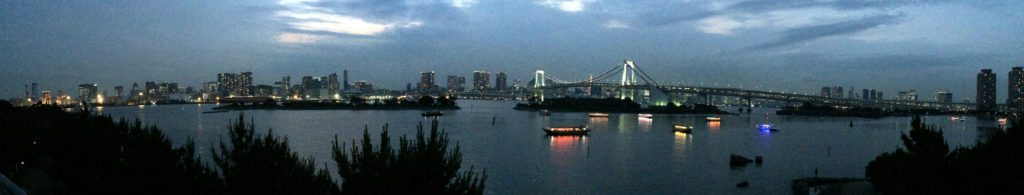 bahia tokio, desde Odaiba