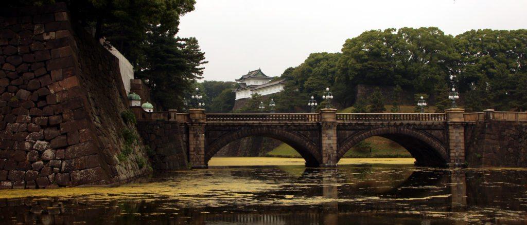 puente Nijubashi, palacio imperial tokio