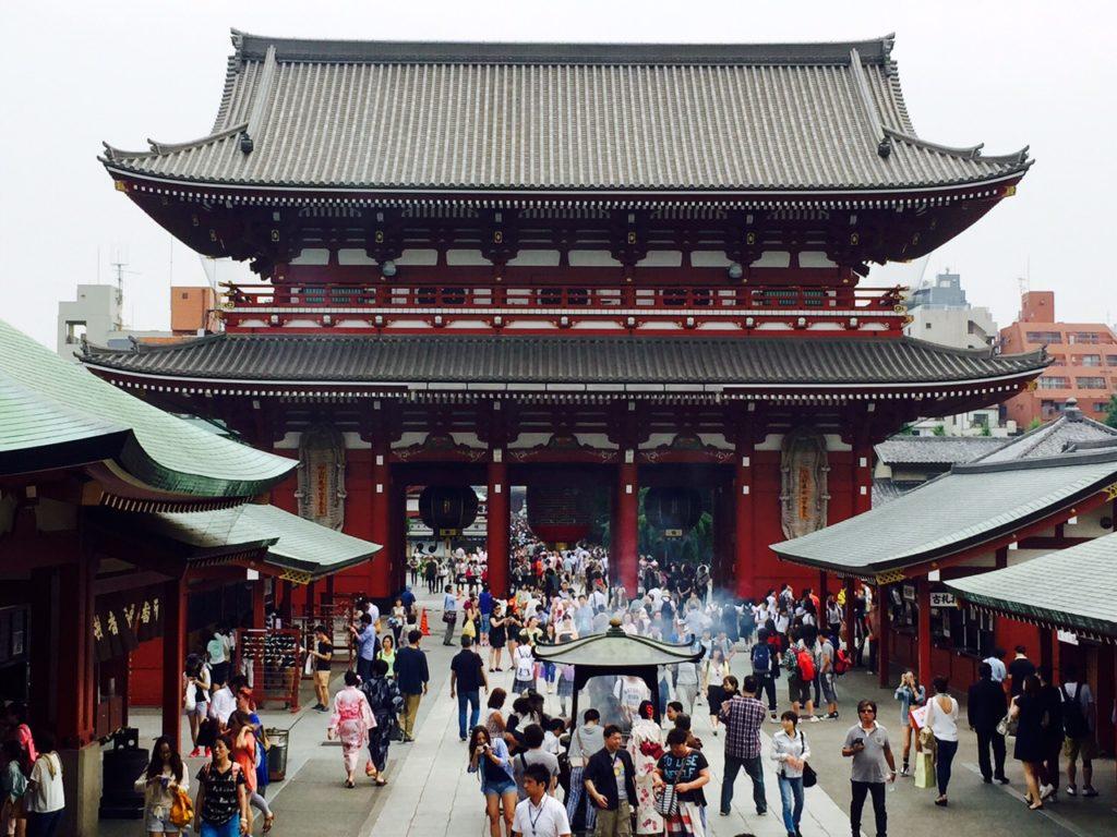 Templo Sensoji, Asakusa