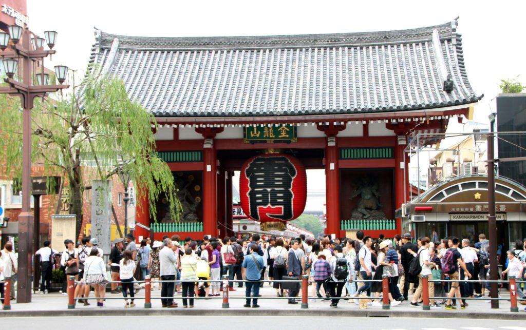 Puerta Kaminorimon, Templo Sensoji, Asakusa