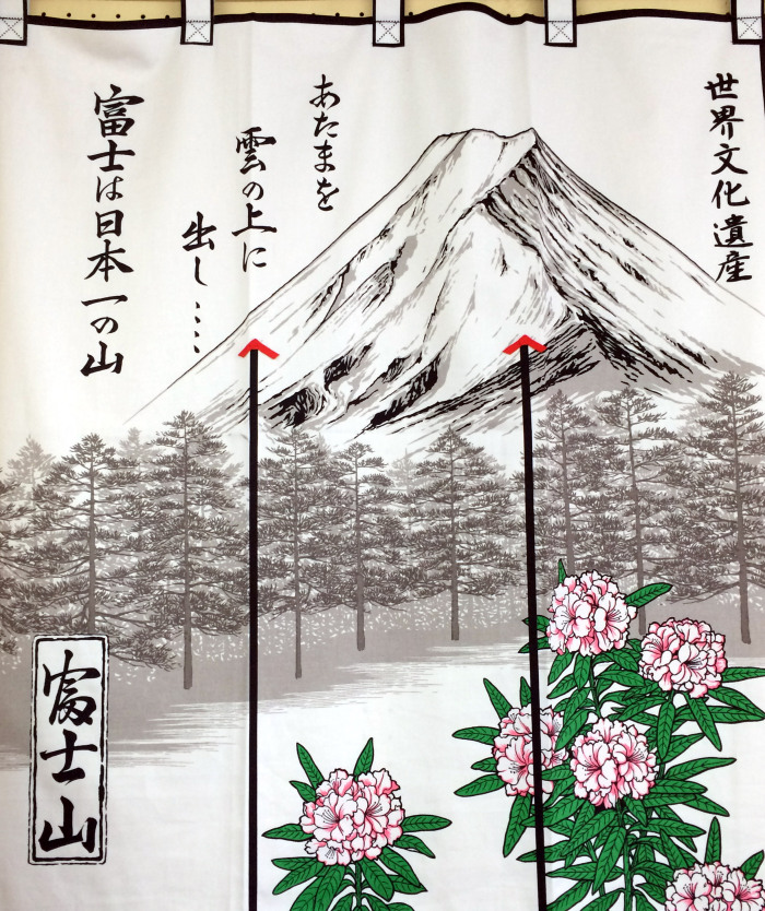 diseño Monte Fuji