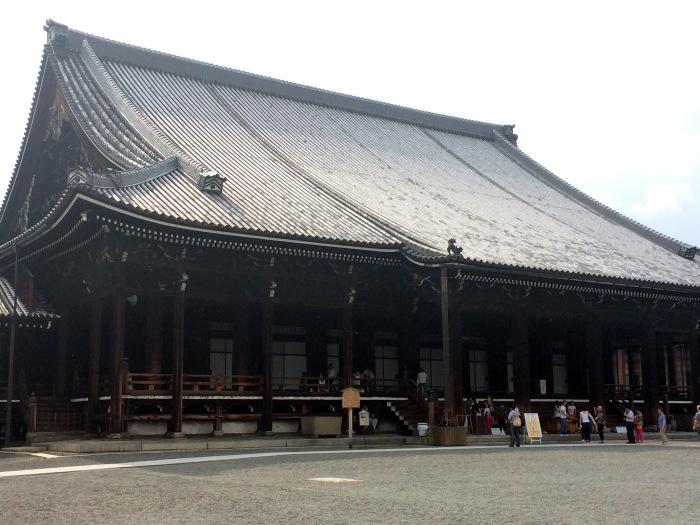 Nishi honganji, entrada