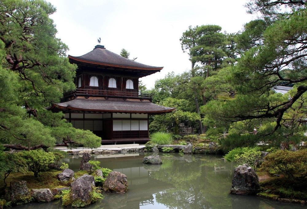 Templo Ginkakuji o Templo Plateado, kioto