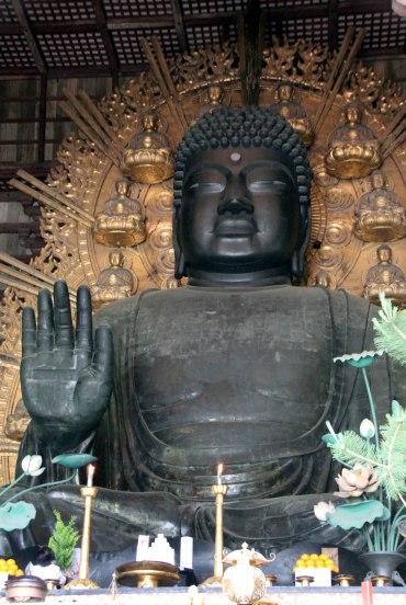 Templo Todaiji, gran Buda bronce, Nara