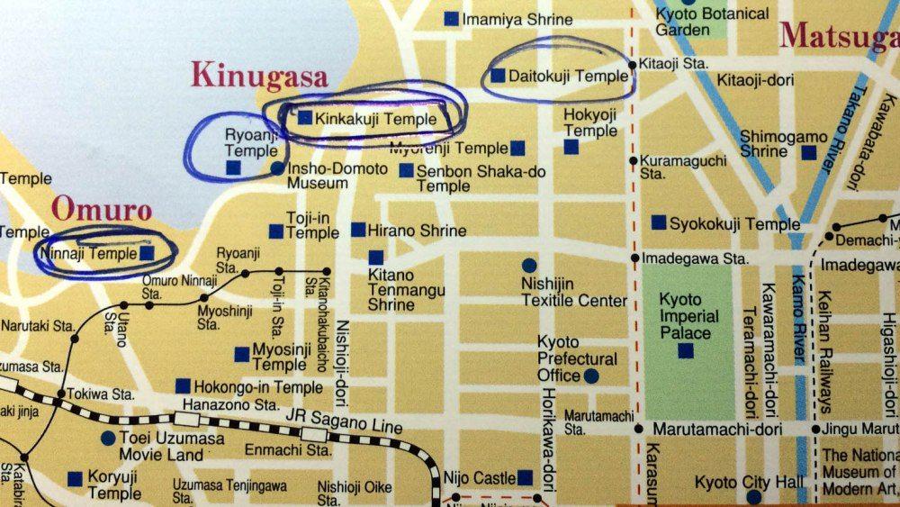 mapa-noroeste-kioto-pabellon-dorado-2