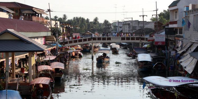 Mercado flotante Amphawa