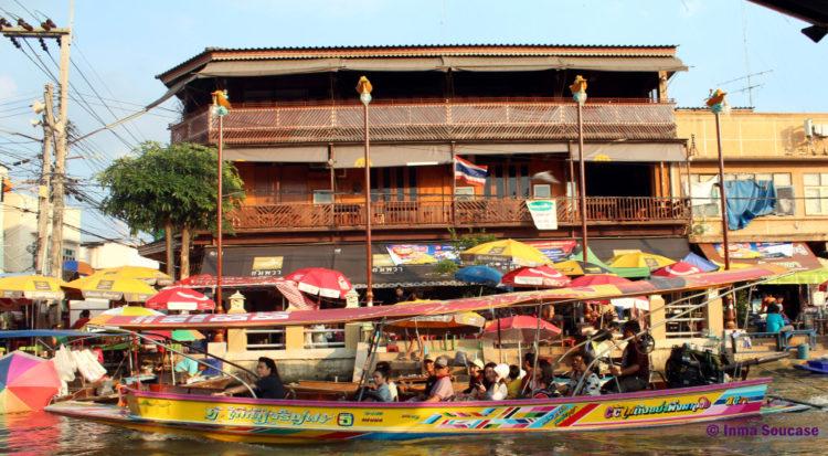 Mercado flotante Amphawa, barca