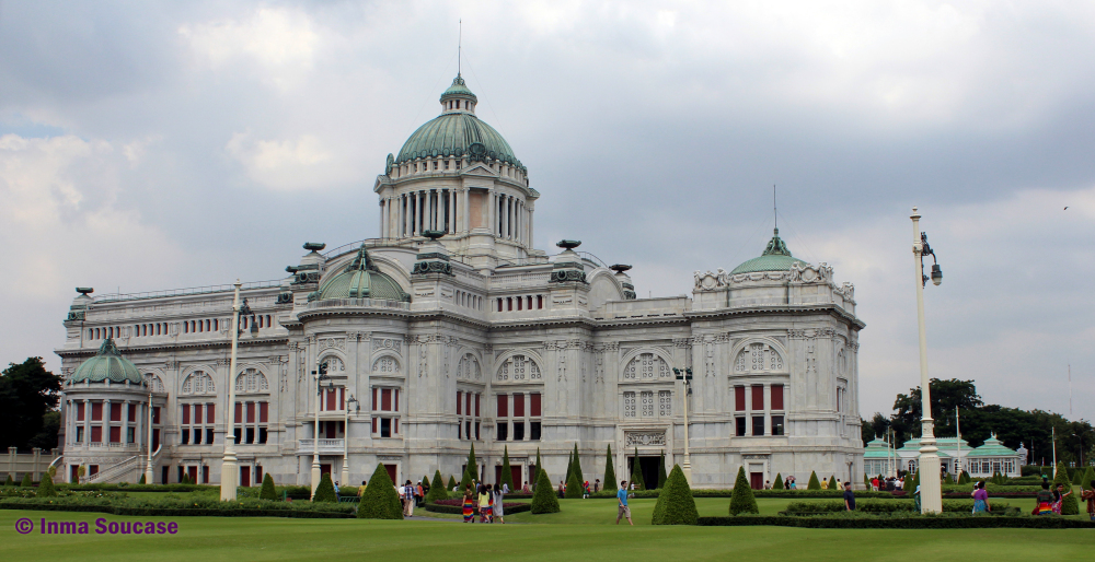 Ananta Samakhom Throne hall - exterior