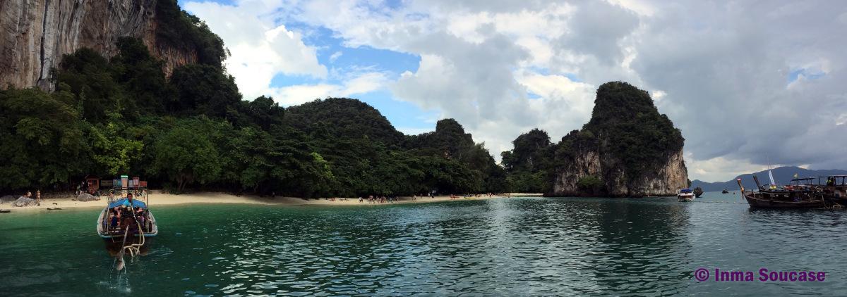 Isla Hong agua